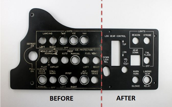 Control Panel Refurbishing